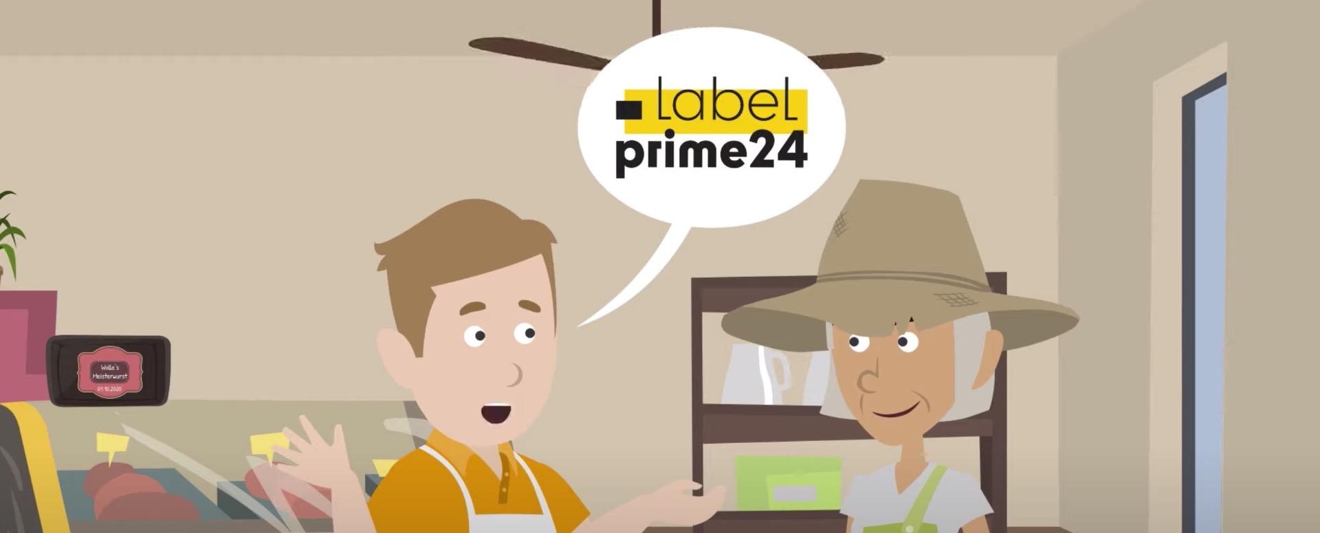 LabelPrime24 kurz erklärt auf YouTube